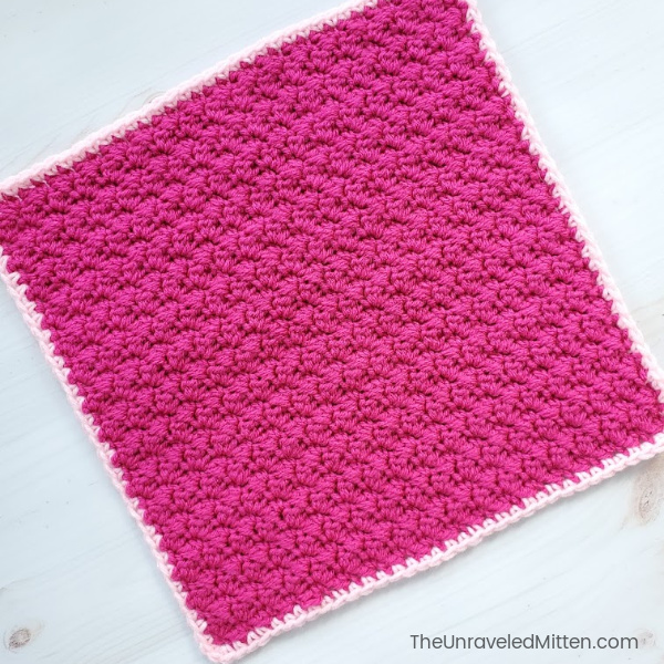 Learn to crochet the Grit Stitch   The Unraveled Mitten   Free Crochet Pattern   Easy Crochet Stitch