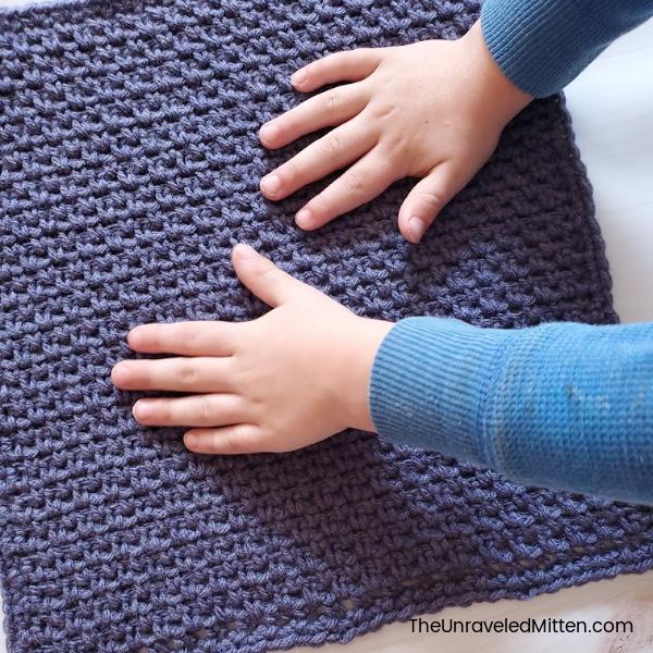 Linen Stitch | Free Crochet Pattern | The Unraveled Mitten