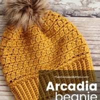 Cluster Stitch Crochet Hat: The Arcadia Beanie