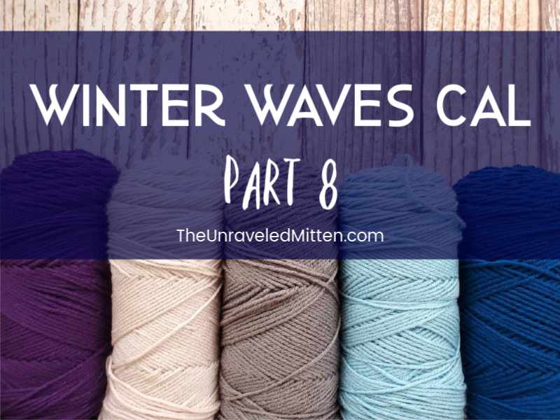 Winter Waves Quilt Inspired Throw Blanket Crochet Along Part 8