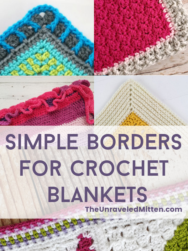 Crocheting A Border On A Blanket