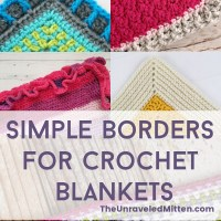 Crochet Blanket Border Inspiration