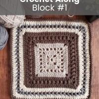 2021 CAL Block #1 – Garden Revival Crochet Square Pattern
