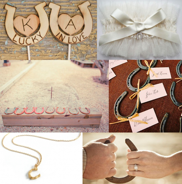 Lucky In Love Ideas For Incorporating Horseshoes Into