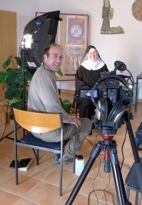Interviewing Sister Hildegard