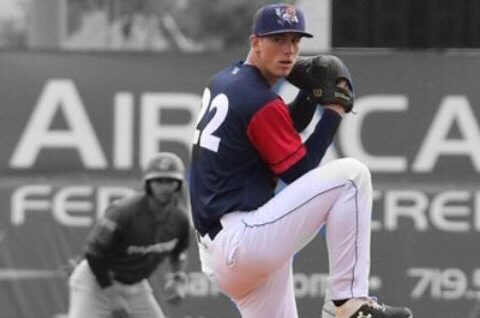 Brock received a scholarship to play baseball before being drafted to play professionally.