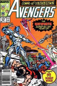 058 Avengers V1 #313 - Page 1
