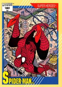 Marvel Universe Trading Cards - Series II (1991) - Page 1