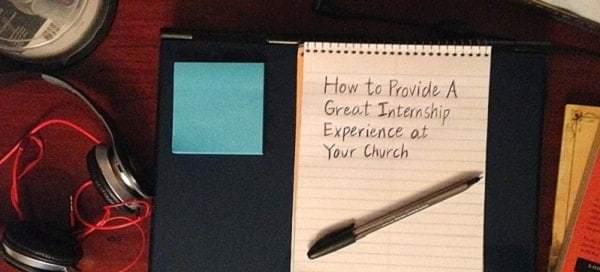 church-internship-experience