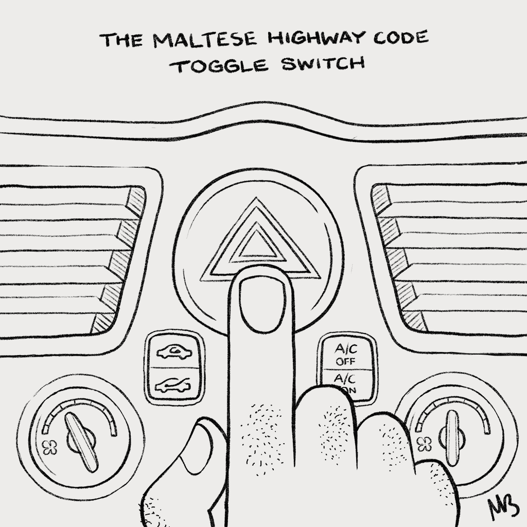 The Untroubled Maltese The Highway Code Toggle Switch