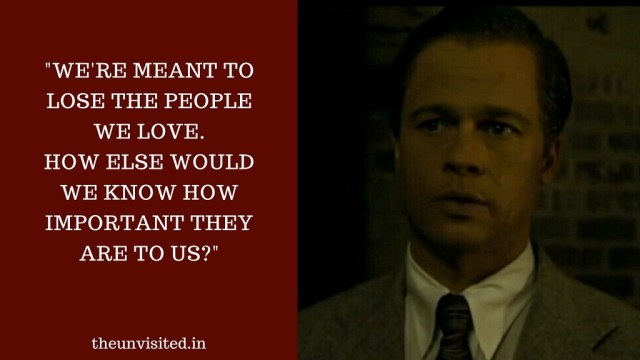 We're meant to lose the people we love. How else would we know how important they are to us?