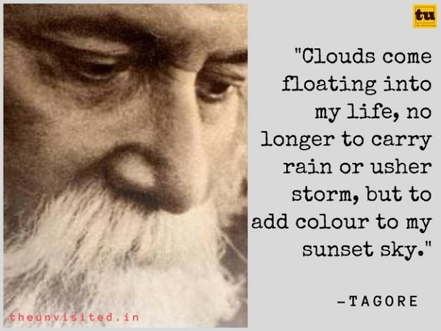The unvisited Rabindranath tagore poetry quotes