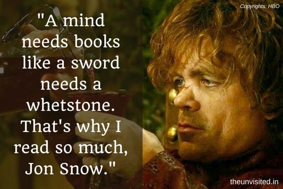 The Unvisited tyrion lannister peter dinklage quotes game of thrones