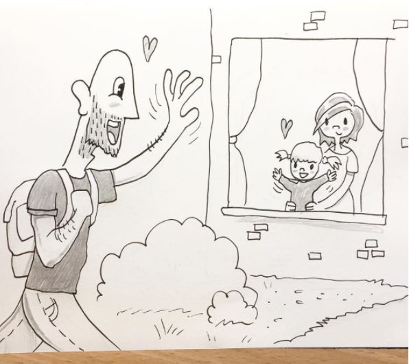 kellie and pete the unvisited 10 artists draws comic for girlfriend heart love