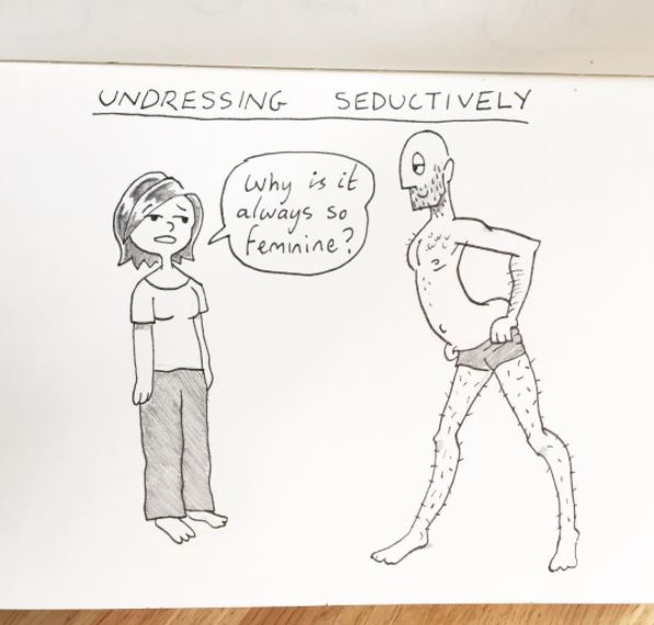 kellie and pete the unvisited 15 artists draws comic for girlfriend heart love
