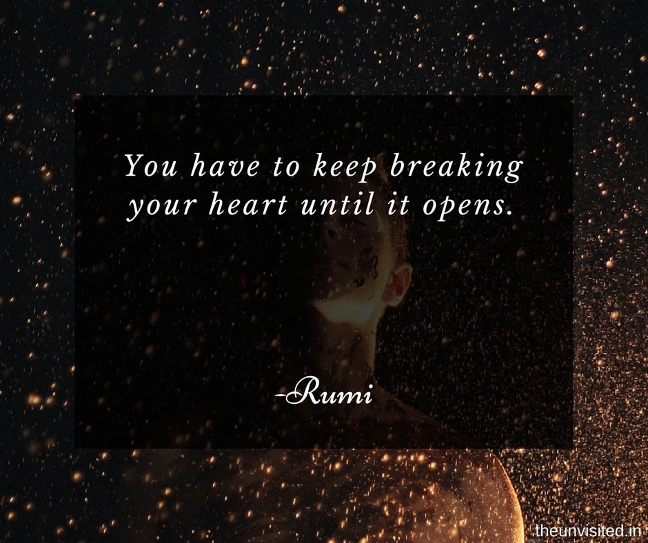 Rumi Quotes Simple 48 Rumi Quotes That Speaks Of The True Essence Of Love The Unvisited