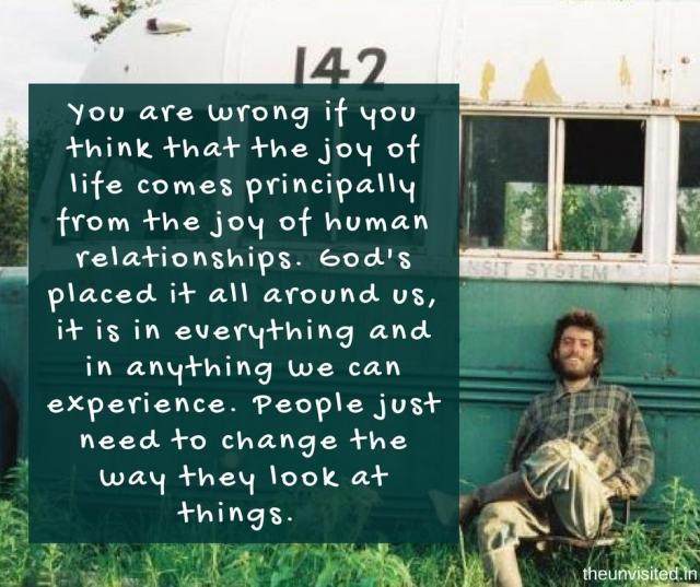 14 Thought Shattering Quotes From Into The Wild That Will Set Your