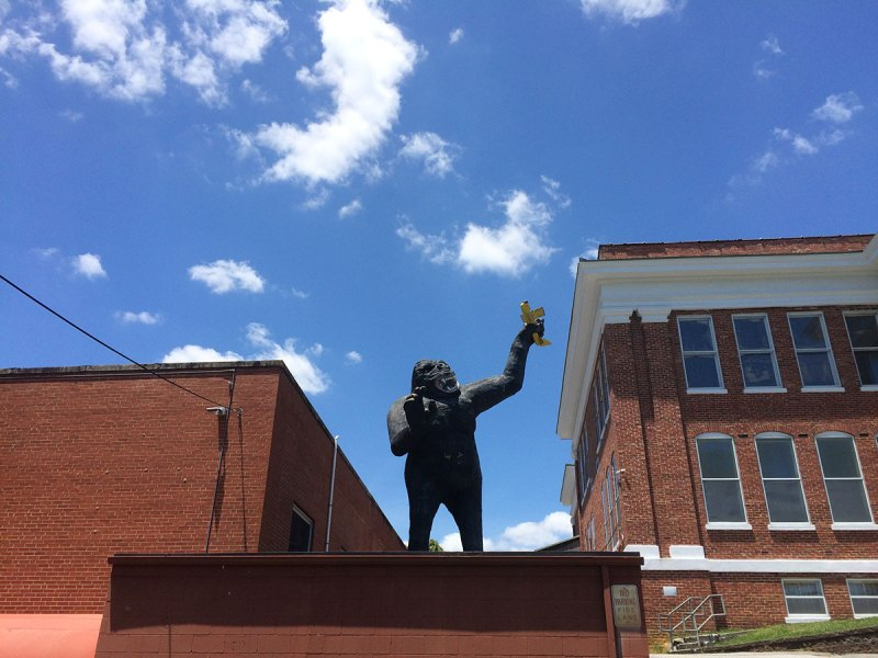 """""""King Kong"""" by Mark Cline at the William King Art Center."""