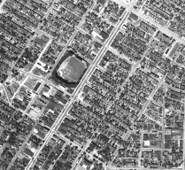 Original Busch Stadium, 1941