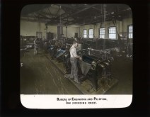 Bureau of Engraving and Printing. Ink grinding room. RG 56-AE-100.