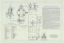 RG26, Lamps & Lanterns (optics), Folder 1. Directions for operating 35mm single tank system, Type B, Vapor Lamp, 1912.