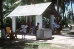 """(Local Identifier: 330-CFD-DN-ST-85-03235) """"Navy personnel enjoy a cookout during off-duty time."""""""