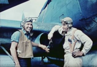 Lt. James Charles Owens, Jr. and ARM 1st Class Amelio Maffei