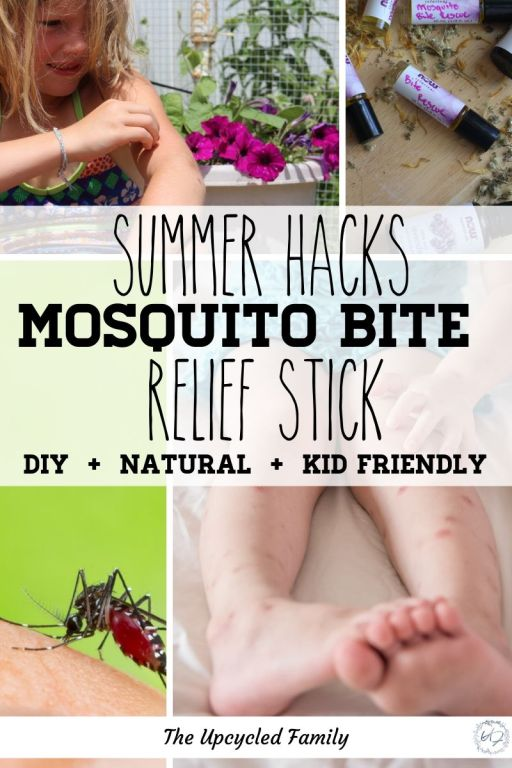DIY Mosquito bite remedy stick