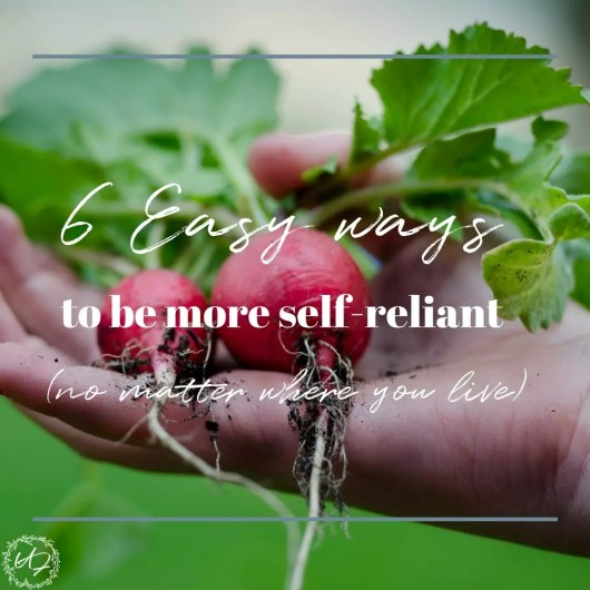 self-reliant