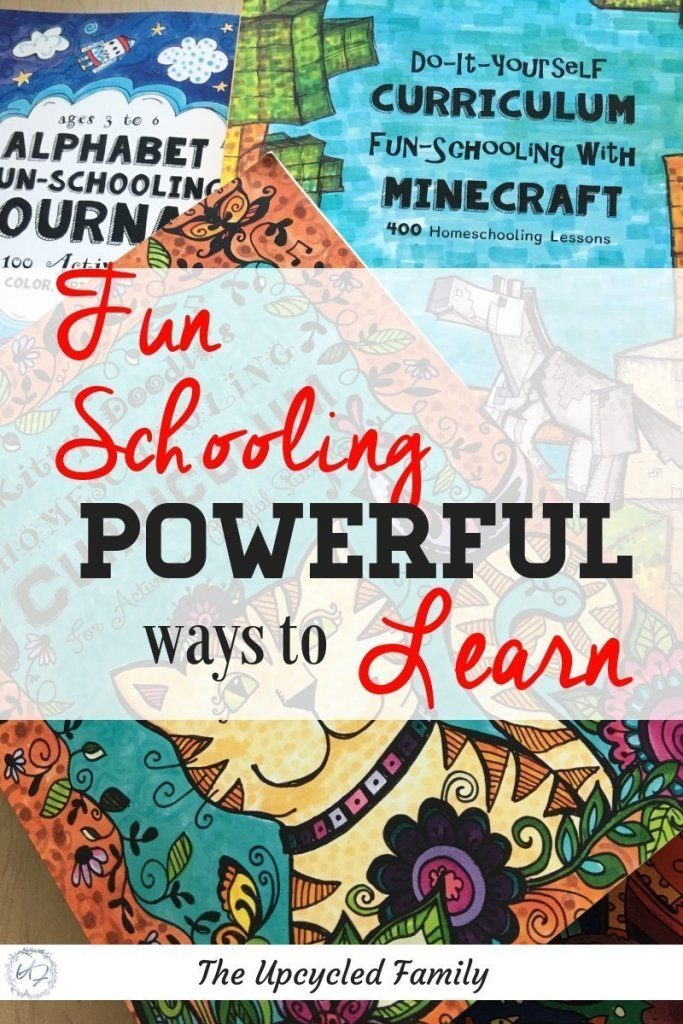 """Homeschooling and homeschool curriculum decisions can be difficult! Fun-Schooling what it is and why do it. Out with the old, rigid, """"boring"""" methods of learning in with the new homeschool ideas like creative and fun ways to learn. 6 Reasons why you will love funschooling! #homeschool #homeschooling #homeschoolideas #homeschoolideas #homeschooltips #homeschoolcurriculum #funschooling"""