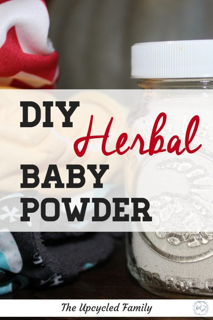 Easy to make homemade baby powder. How to make this soothing herbal baby powder. Talc-free baby powder recipe #babypowder #diybabypowder #howtomakebabypowder #naturalbabypowder #homemadebabypowder #herbalbabypowder