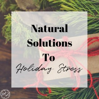 Managing Holiday Stress and anxiety can be difficult. Find simple, powerful and NATURAL solutions to beat holiday stress.