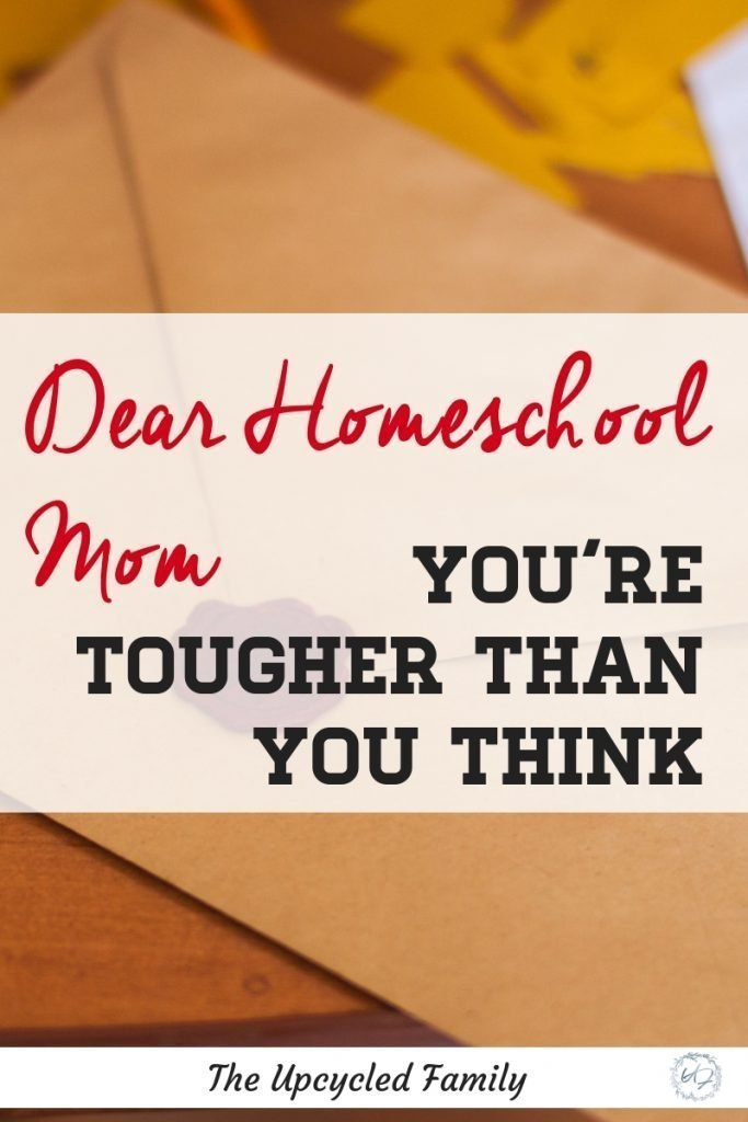 """You are a Homeschool Mom, thats a tough job, like a really tough job. That's not it, it is also a pretty rare job, not many people """"get it"""" and even less respect it. In all of this the truth is you are tougher than you think. #homeschool #homeschoolinspiration #homeschoolproblems #homeschoolresources #homeschoolencouragement"""