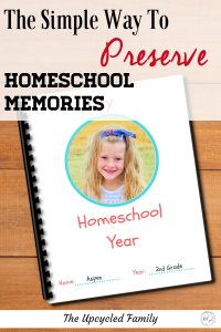 Homeschool keepsake. This easy, fun PDF memory book helps your child to remember the year from their perspective. How they they were, thought, drew all in one fun keepsake book. #homeschool #memorybook #ideas #keepsake #activities #homeschoolendofyear