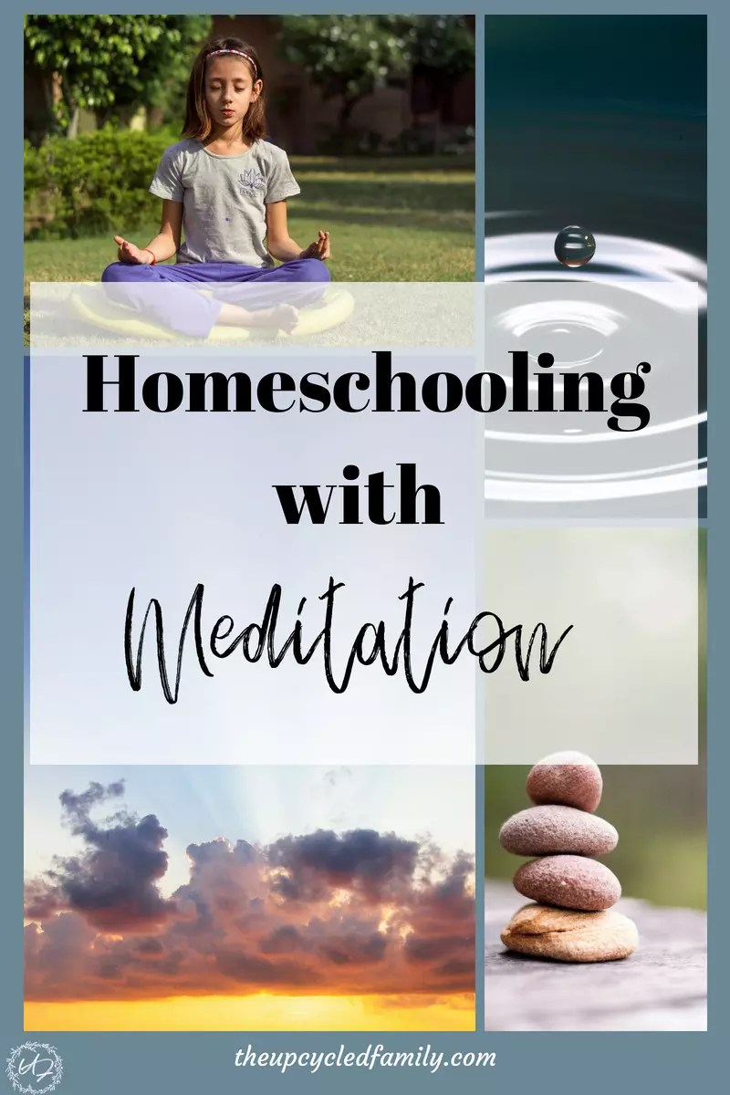 homeschooling with meditation