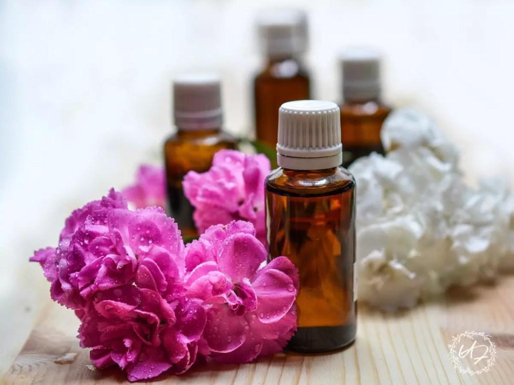 essential oils on the homestead