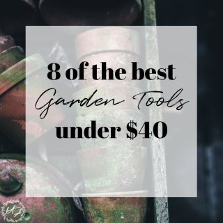 8 must have gardening tools for beginners. Getting the most out of your time effort and gardening goals with the best tools (that wont't break the bank).