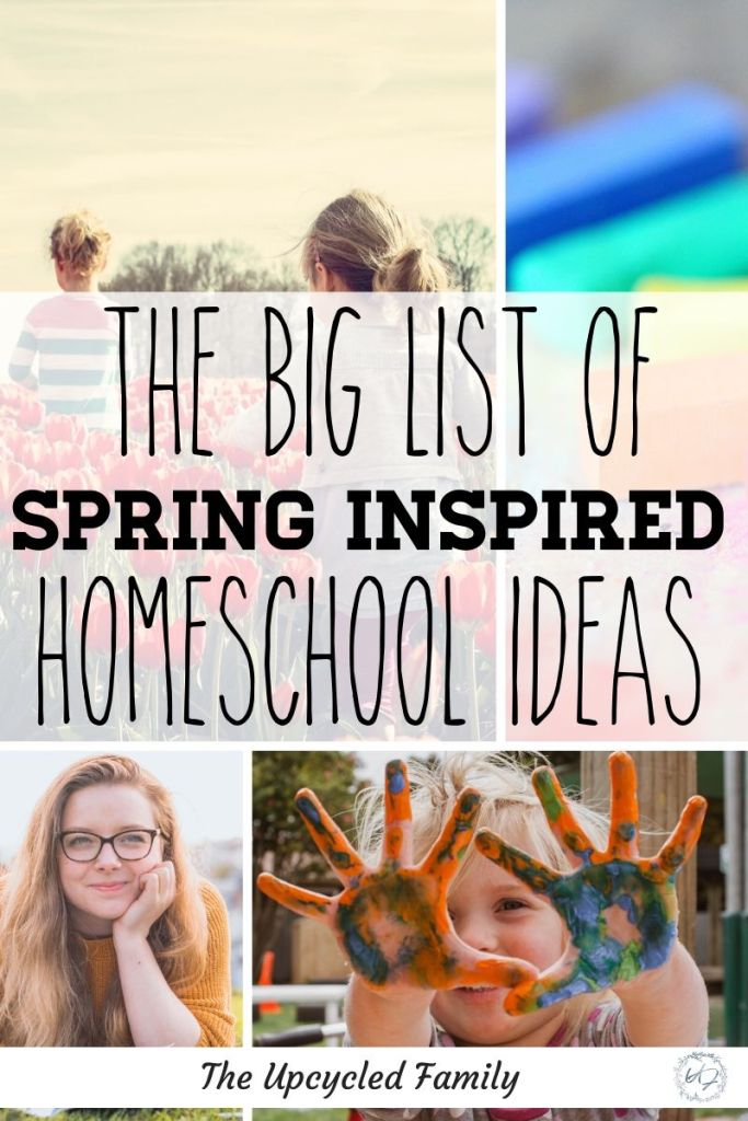 Feeling a little Cabin Fever? A big list of 20 Spring Homeschool Activities and Ideas, from preschool to teens. Get into spring and out into nature from arts and crafts to nature unit studies and more. #spring #homeschool #springhomeschoolactivities #springhomeschoolpreschool #springhomeschoolunit #springactivities #springcrafts #homeschoolactivities