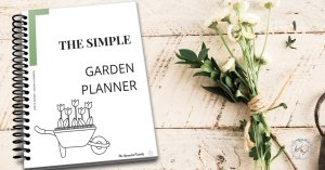 Journal-style printable garden planner