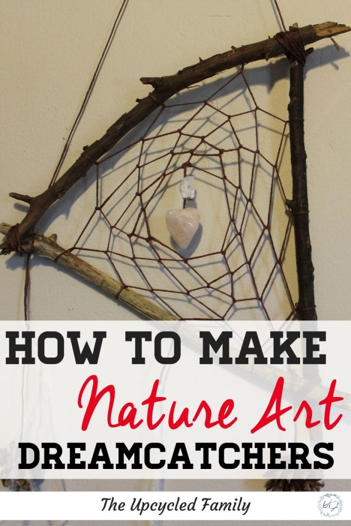 Looking for fun and easy nature art project? Check out this DIY dream catcher tutorial. Use materials from just out your door to make a DIY dream catcher for kids, homeschool or even cheap and fun gift ideas! #diydreamcatcher #tutorial #forkids #ideas #easy #natureart #natureartprojects #homeschool #homeschoolcrafts #homeschoolart #homeschoolideas #craftsforkids