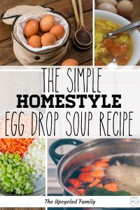 What's better than quick Chinese take-out egg drop soup? Why this healthy homestyle egg drop soup recipe is! Try this gluten-free easy egg drop soup recipe and you will never go back to that stuff from the Chinese buffet again. #eggdropsoup #eggdropsouprecipe #eggdropsoup #healthyeggdropsoup #authenticeggdropsoup #easyeggdropsoup