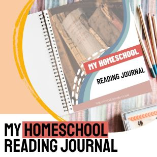 printable homeschool reading journal