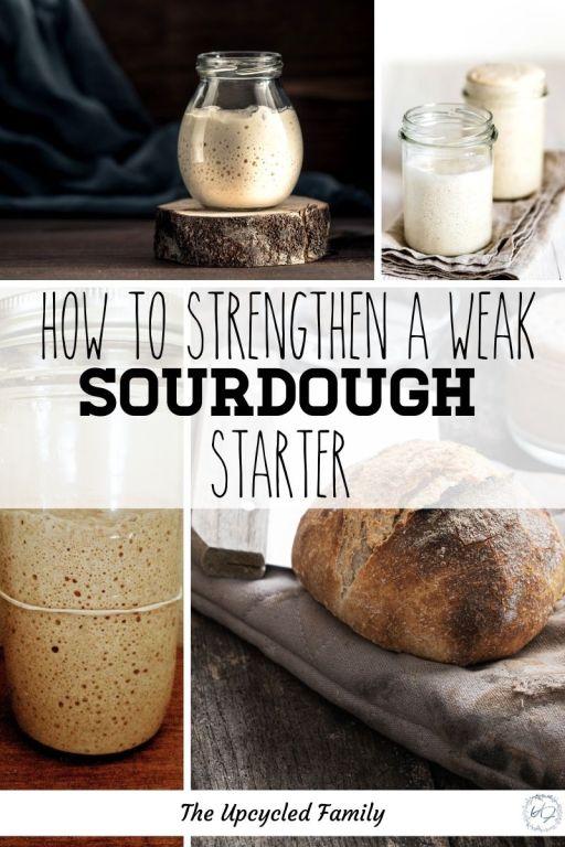 how to strengthen a weak sourdough starter