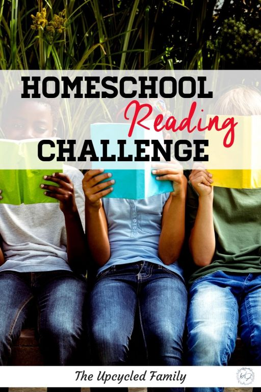 Our homeschool reading challenge