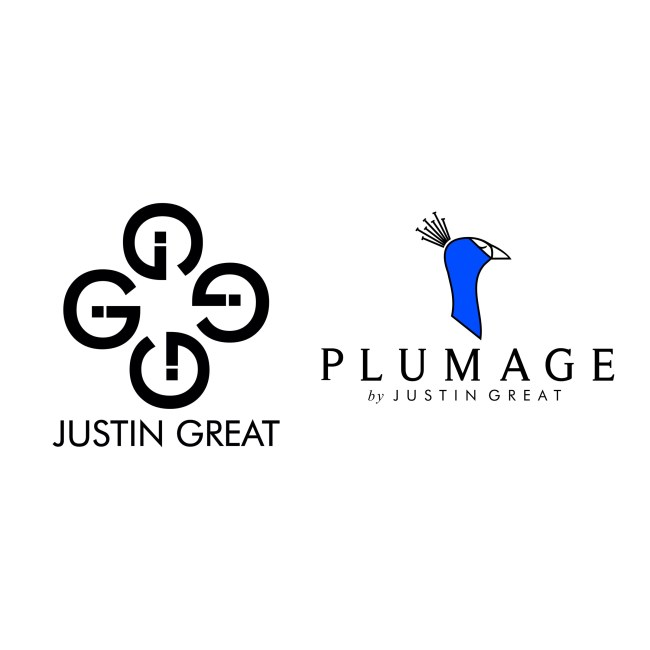Justin Great Plumage by Justin Great Logo