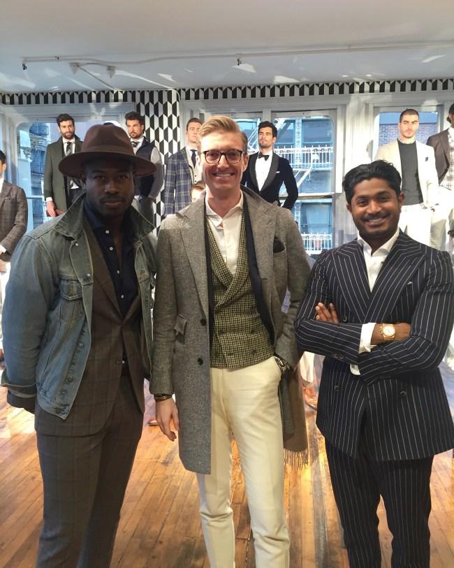 Justin Great Suit Supply Nish de Gruiter New York Mens Fashion Week 2016 NYFWM
