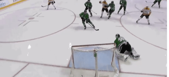 Defining Play: Stars can't rise to the moment after fluky Nashville goal