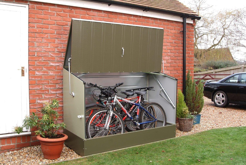 5 Best Bike Storage Sheds The Urban Backyard