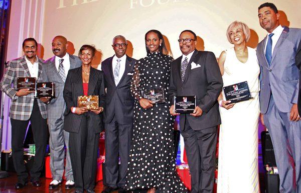 Aundrae Russell, Rushion McDonald, Karen Slade, Chairman, Ethiopia Habtemariam, Lee Bailey, Gail Mitchell, Keith Clinksales