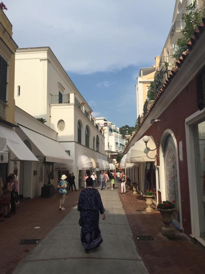 Italy, Capri, Amalfi Coast, Europe, Travel, Piazza Umberto, shopping.